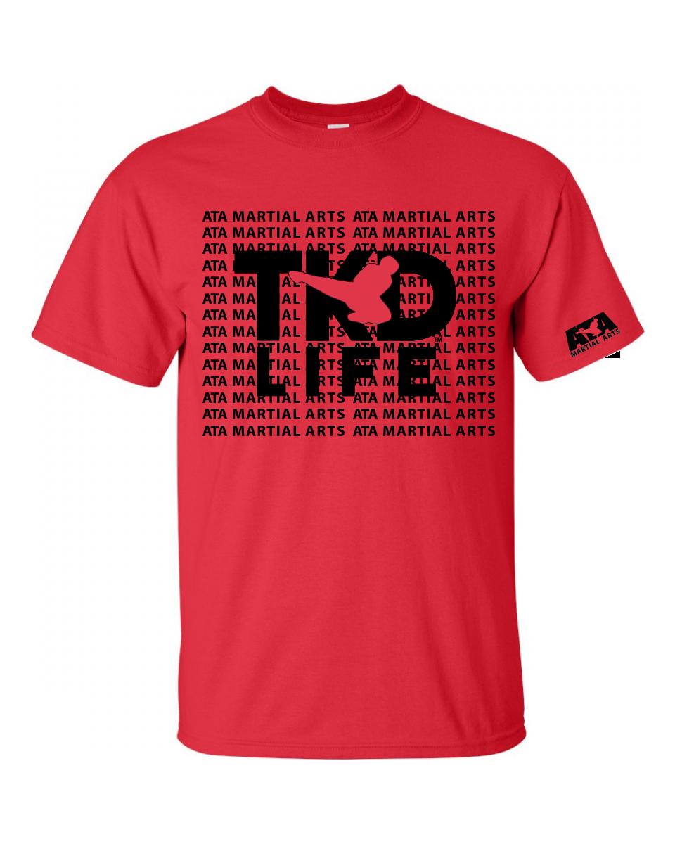 ATA TKD Life T-Shirt Red