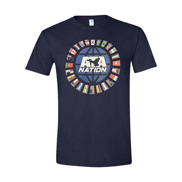 ATA Nation T-Shirt Navy