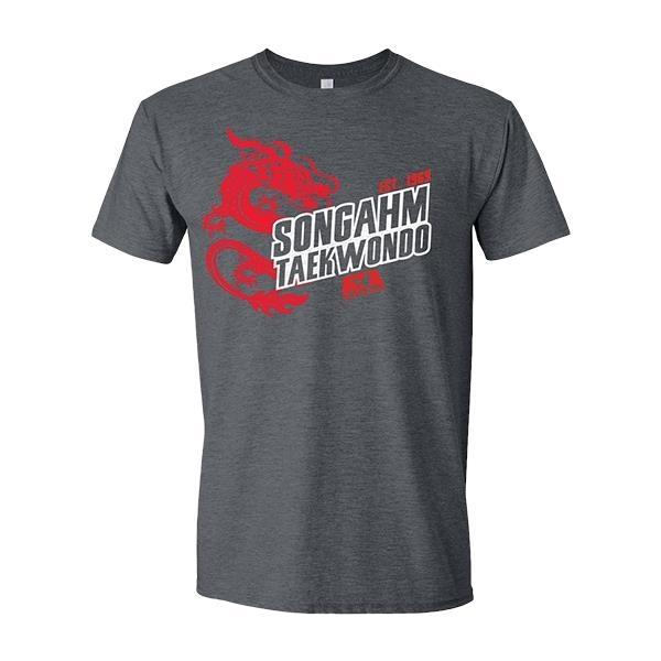 ATA Songham Tkd Dragon T-Shirt Grey